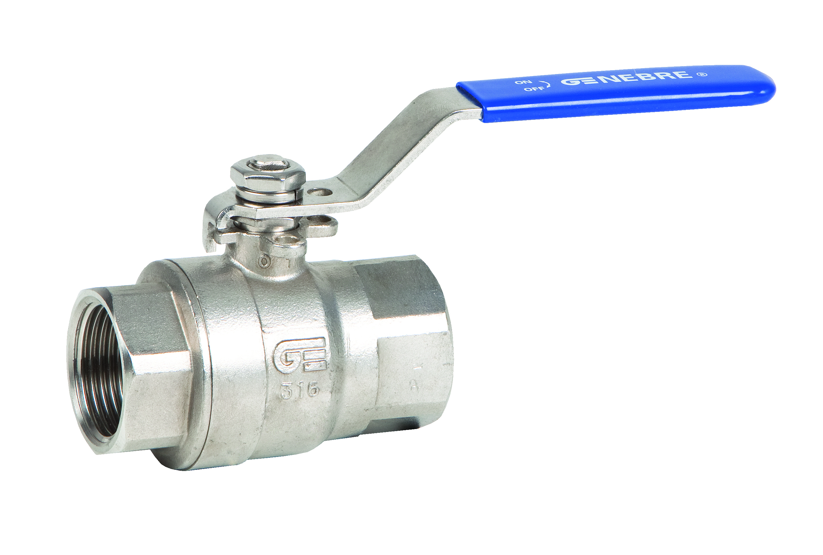 Cast stainless steel ball valves alma