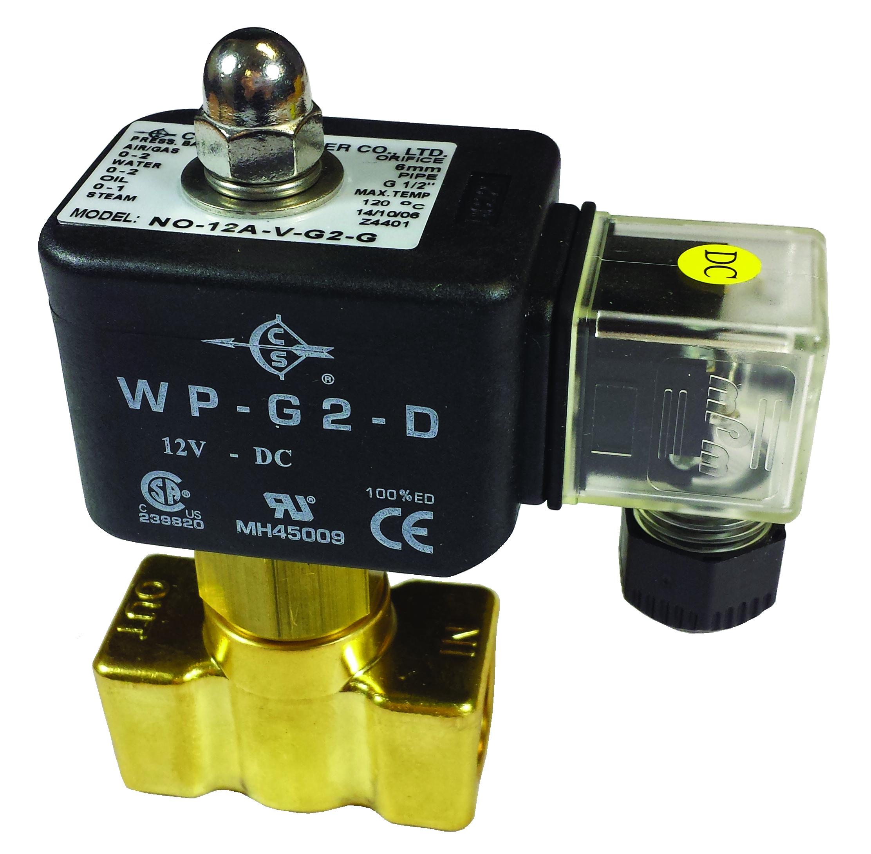 1 NOAD12A solenoid valves Connexion(O)