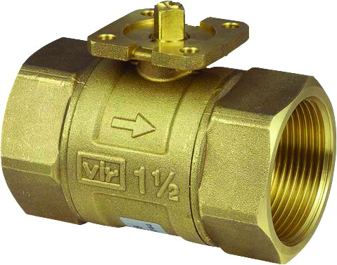 1 Sauter 2-way Ball Valves (O)