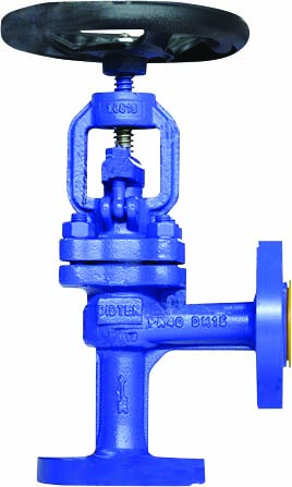 1 right angle globe valve (O)web