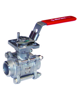 2 747 Stainless steel ball valve