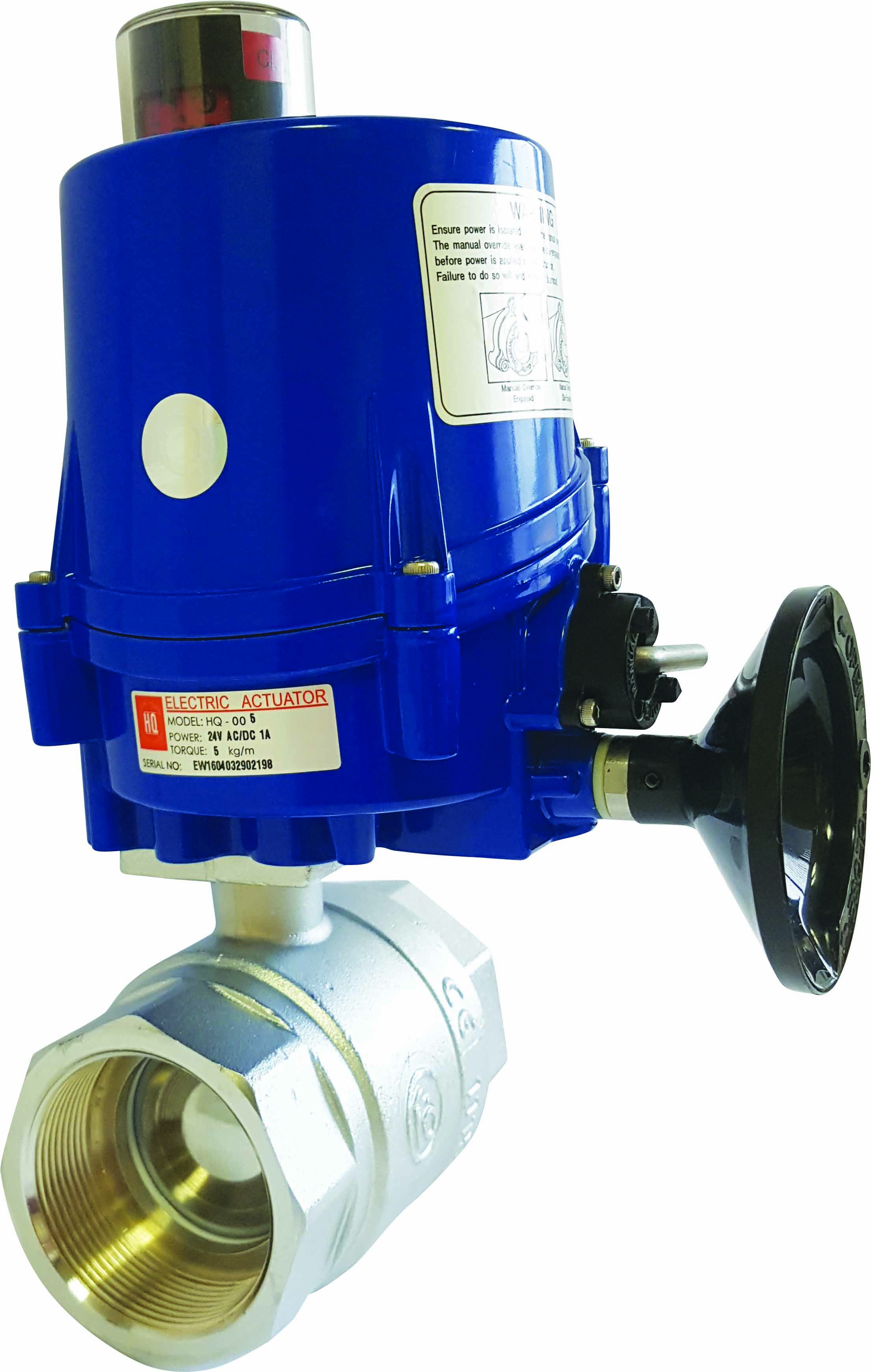Actuated Valves Alma Valves
