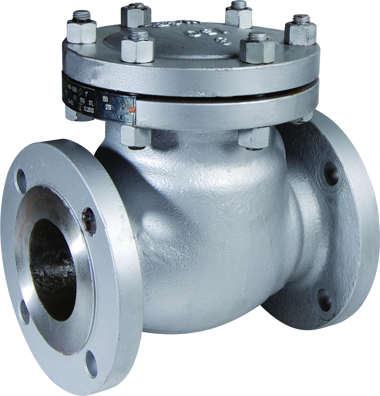 3 373 Cast Steel Swing Check Valve (O)