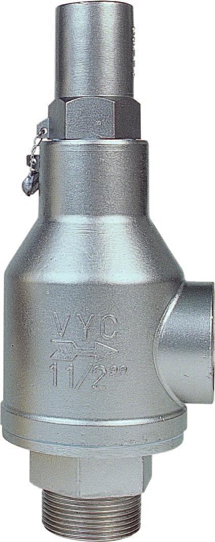 3 VYC 095 ES SS SAFETY VALVE (O)