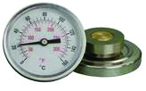 6 magnet mounted temperature gauge (O)